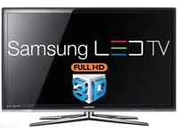 """Samsung 40"""" LED 3D Smart Internet Tv with freeview"""