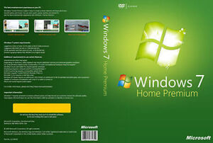 Windows 7 Home Premium New Unopened