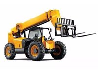 Telescopic forklift cpcs driver requires work