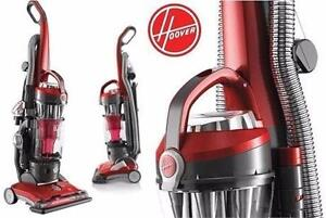 USED HOOVER WINDTUNNEL 3 VACUUM Hoover WindTunnel® 3 High Performance Bagless Upright Vacuum FLOOR CARE CLEANER 96511919