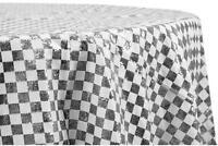 """Glitz Sequin 120"""" Round Tablecloth - A VENDRE"""