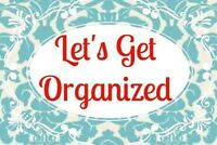 Trained Professional Organizer for hire