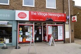 Newsagent, Convenience Store & Post Office In Outstanding Affluent Sheffield Village Location.