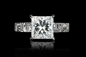 Canturi 18ct White Gold Cubism Ring 1.10ct Princess Cut Bondi Junction Eastern Suburbs Preview