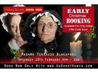 Ghost hunt at Madame Tussaurds in Blackpool EXCLUSIVE LOCATION