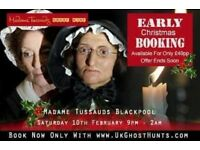 Ghost hunt at madame tussaurds blackpool