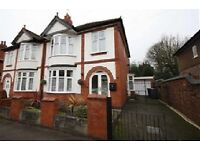 Three bedroom semi detached property with garage in Earls Road - superb