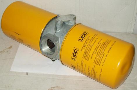 Ucc Maxi-flow Return Line Filter Uc-mx-1720-102 W/ Uc-mx-1591-4-10 Element