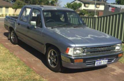 1990 Toyota Hilux Dual Cab Ute Kardinya Melville Area Preview