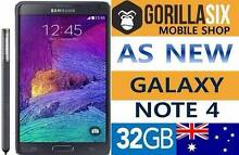 GALAXY NOTE 4 32GB 100% UNLOCKED 3MONTH WARRANTY Strathfield Strathfield Area Preview
