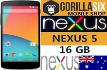 NEW GOOGLE NEXUS 5 16GB 100% UNLOCKED BIG SALE. Strathfield Strathfield Area Preview