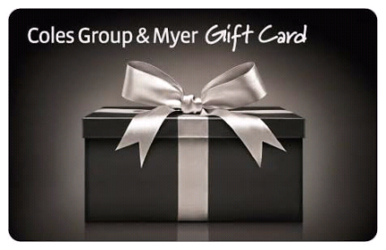 Myer gift card gumtree australia free local classifieds coles myer group gift card negle Image collections