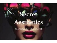 Secret Aesthetics - Lip Fillers, Anti-Wrinkle, Tear Troughs, Nose, Hyperhidrosis