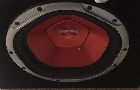"Sony 10"" Bass box 600 watts"
