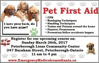Pet First Aid Course Peterborough