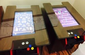 Arcade Cocktail table with Pinball and Pac-Man - Table arcade