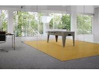 Carpet tiles DESSO Airmaster yellow new 50x50cm
