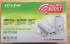 tp link av600 wifi ethernet powerline passthrough adapters