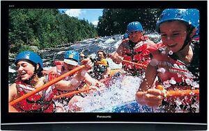 "Panasonic Viera TH-PZ80U 50"" Plasma TV, Remote & Manual"