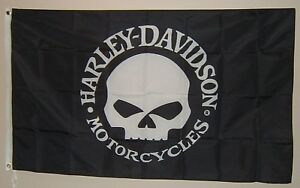 NEW Outdoor/indoor Harley Davidson Flag's / sign
