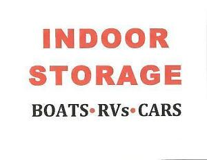 INDOOR STORAGE - Boats, RVs, Trailers & Vehicles