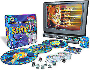 Scene It Deluxe Movie Edition Game with Collector's Tin & DVDs