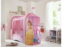 Disney princess toddler bed with canopy