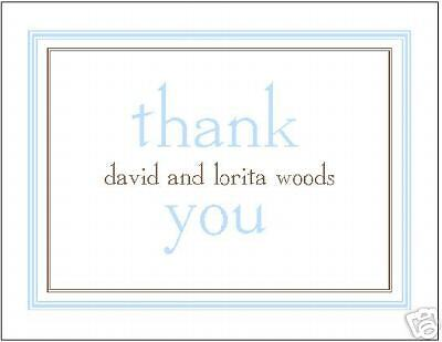 Simple and Sweet Personalized Thank You Cards