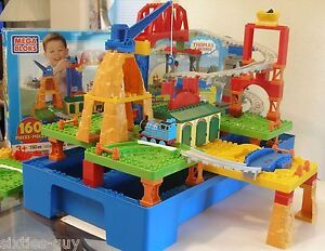 Thomas the Train Mountain Adventure Mega Bloks Set