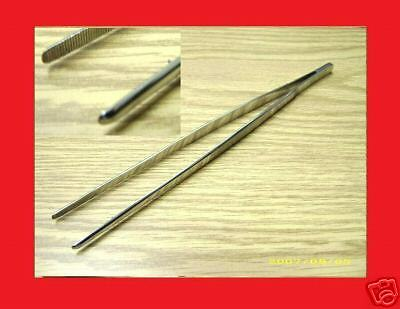 3 New Thumb Dressing Forceps 10 Tweezers Surgical