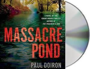 NEW Massacre Pond: A Novel (Mike Bowditch Mysteries) by Paul Doiron