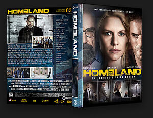 Homeland Season 3 DVD TOP NOTCH en anglais