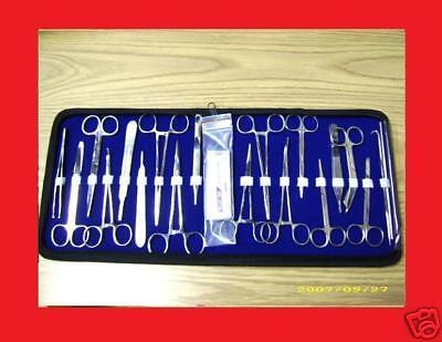 35 Pc Us Military Minor Surgery Student Kit Forceps