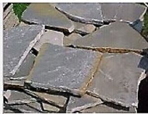 Free flagstone, landscaping stone or retaining wall cind