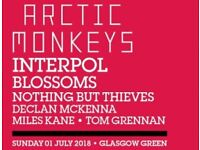 Arctic Monkeys - TRNSMT Festival ticket 01/07/2018