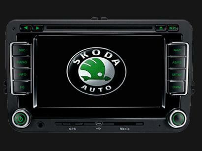 skoda octavia fabia superb autoradio full navigatie. Black Bedroom Furniture Sets. Home Design Ideas