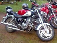 Jinlun 125 Motorcycle