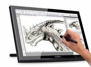 As new - Huion GT-190 interactive graphics tablet pen monitor Preston Darebin Area Preview