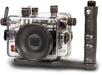 Canon G model waterproof camera case for scuba diving