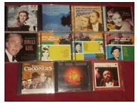 Old time collection of cds frank sinatra etc