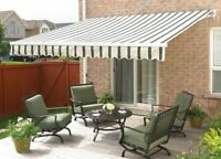 FOR SALE - HOME AWNING 10' X 12'