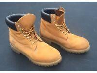 Men's Size 9 Timberland Boots Icon 6-Inch Premium (Colour: Wheat Nubuck)