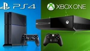 Xbox One + 2 Controllers + Games for PS4