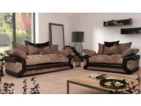 FREE FOOTSTOOL with New 3&2 seater sofa