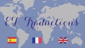 Translations & Help on writing letters in French, Spanish and English