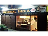 Part time Counter staff wanted at busy Indian takeaway