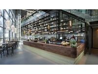 Bar staff required for City of London venue - The Drift Bar - near Liverpool Street