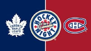 Toronto Maple Leafs vs Montreal Canadians Home Opener Oct3 Blues