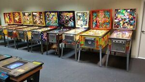 Pinball and Arcade Machines WANTED in Any Condition!