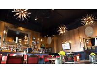 Central London bar staff wanted